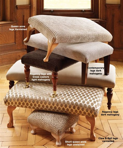 Upholstered Stools For Living Room by Living Room Footstools The Dormy House 35cm