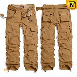 Mens Cotton Cargo Hiking Travel Pants CW100036
