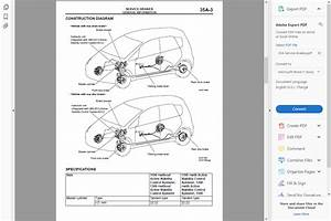 Factory Workshop Service Repair Manual Mitsubishi Colt 2002