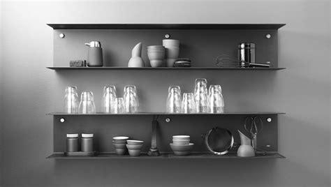 idee etagere cuisine étagère murale contemporaine en métal pour cuisine