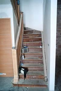 Escalier Bois Intérieur : renovation escalier bois interieur r novation escalier ~ Premium-room.com Idées de Décoration
