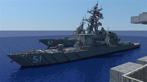 How To Make A War Boat In Minecraft by Carrier Strike Uss Ronald Regan More