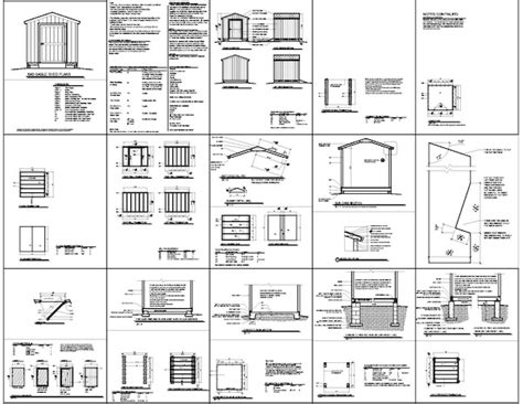 free shed plans 8x8 woodwork how to build a 8x8 wood shed pdf plans