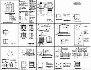 8x8 Shed Plans How To Build Diy By