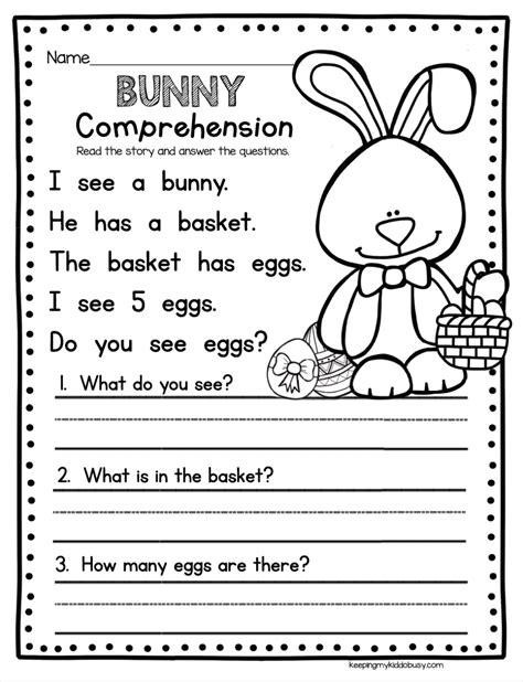 April In Kindergarten Freebies Literacy Activities Freebies Activities Easy Kindergarten