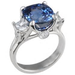 Blue Colored Diamond Engagement Rings