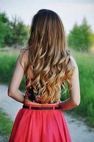 Ombre Hair with Curls
