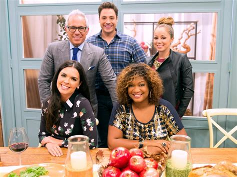 foodnetwork the kitchen poll what s the centerpiece dish on your table