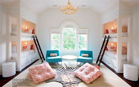 Cute Kids' Rooms For More Than Two Children
