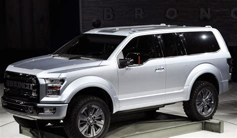 ford bronco suv  specs engine  price cars ford