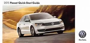 2015 Volkswagen Passat Owners Manual In Pdf