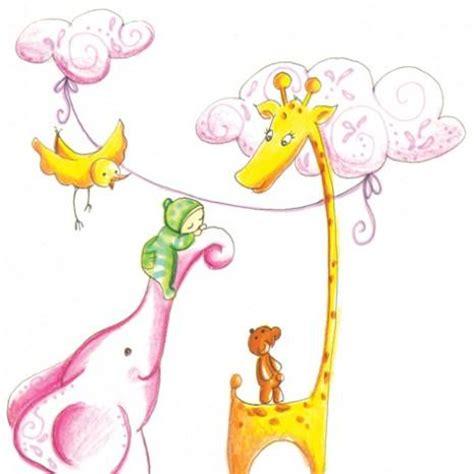illustration chambre bébé illustration pour un faire part de naissance à voir
