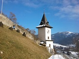File:Uhrturm, Bruck an der Mur, Austria, mit Mauer.jpg ...