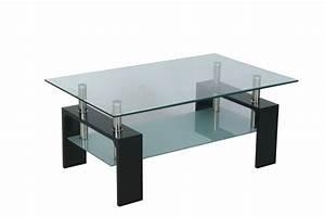 Table Basse Bois Et Verre : table basse bois blanc et verre table basse table pliante et table de cuisine ~ Teatrodelosmanantiales.com Idées de Décoration