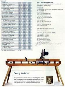 Folding Miter Saw Table Plans Woodarchivist