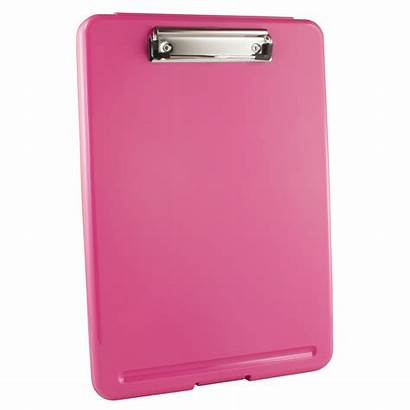Storage Pink Clipboard Clipboards Plastic Mdpocket Brand
