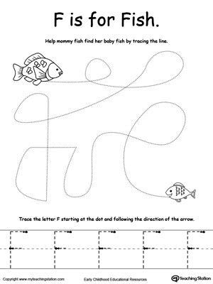 preschool pre writing printable worksheets