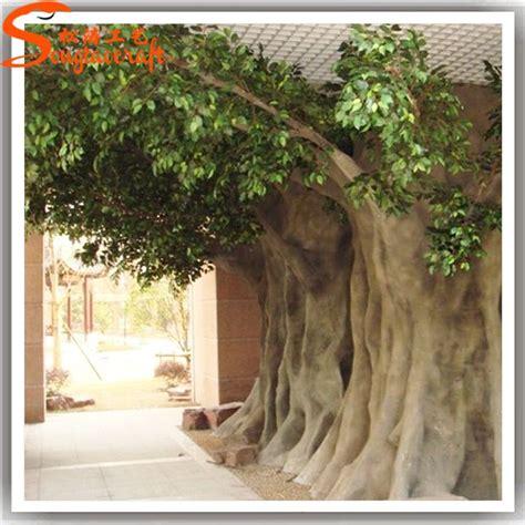 life size cheap artificial big trees landscape plastic