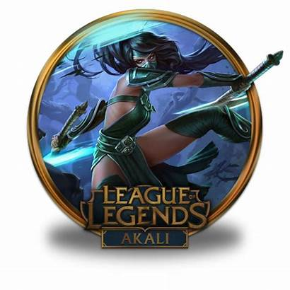 Icon Akali League Legends Icons Border Fazie69