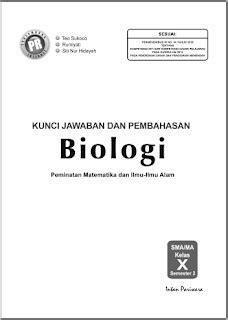 Ajukan pertanyaan tentang tugas sekolahmu. Kunci Jawaban Biologi Kelas 10 Semester 1 Intan Pariwara ...