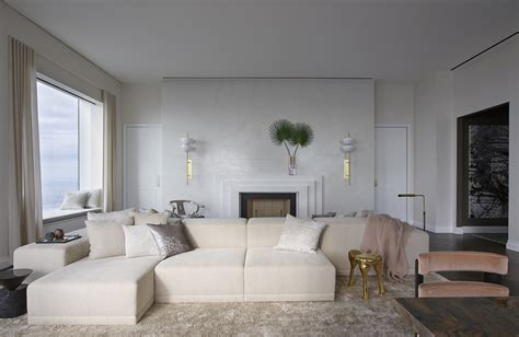 Decorating Ideas Color Inspiration by Pretty In Neutrals Behun S Midtown Penthouse Interior