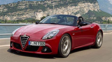 Alfa Romeo Spider And Mazda Mx5 (2015) The New Sports