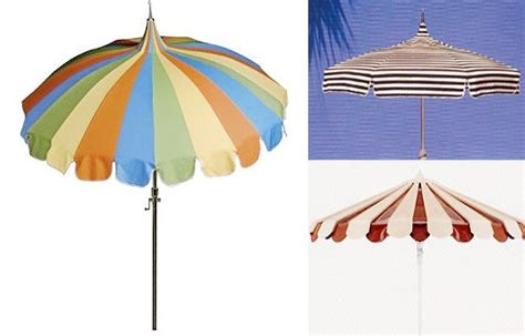 Pagoda Style Patio Umbrella by Pagoda Style Patio Umbrellas Apartment Therapy