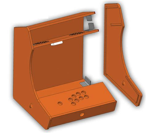 Bartop Arcade Cabinet Plans by Arcade Bartop Diy Kit Arcade4you De Designyourarcade