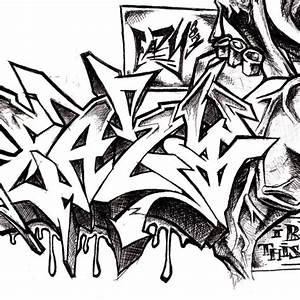 Graffiti Alphabet Clipart (35+)