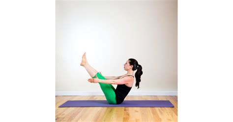 Boat Pose Core Exercise by Boat Core Carving Yoga Poses Popsugar Fitness