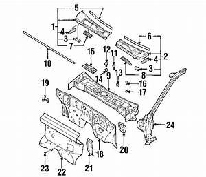 2000 Nissan Frontier Parts