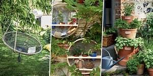 Objet Bambou Faire Soi Meme : am nagement ext rieur jardin potager marie claire ~ Melissatoandfro.com Idées de Décoration