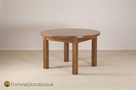 rustic oak round dining table rustic oak dining table round extending popshop uk