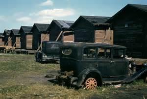 Old Broken Down Cars