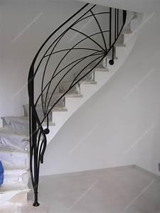 Rampe D Escalier Moderne : rampes d 39 escalier en fer forg art d coratif mod le soleil crois ~ Melissatoandfro.com Idées de Décoration