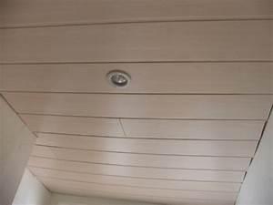Fixation Lambris Pvc : comment poser du lambris pvc dans une salle de bain digpres ~ Premium-room.com Idées de Décoration