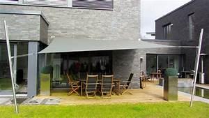 Segel Für Terrasse : sonnensegel feststehend und h henverstellbar pina design ~ Sanjose-hotels-ca.com Haus und Dekorationen