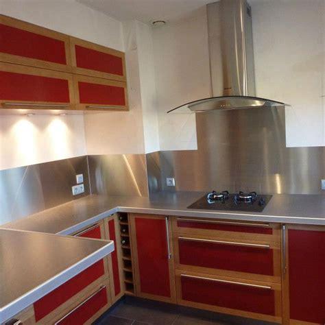 cuisine sur aménagement de cuisine en valchromat et chêne massif