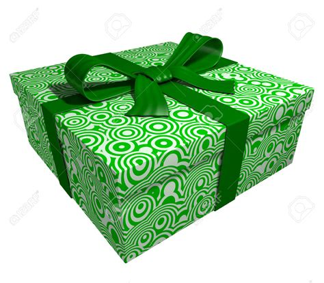 green christmas gift box festival collections