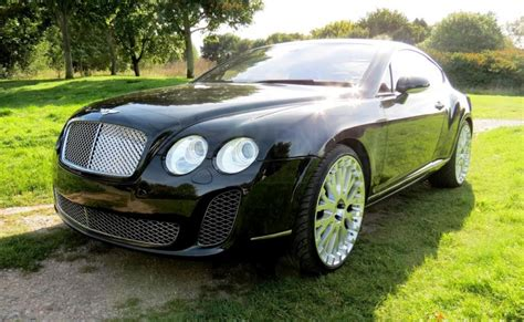 Bentley Supersports Chrome Grille Conversion