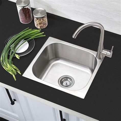 Small Design Stainless Steel Camper Motorhome Kitchen Sink