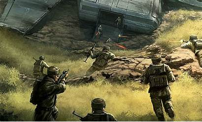 Rebel Imperial Crashed Troopers Shuttle Sentinel Class