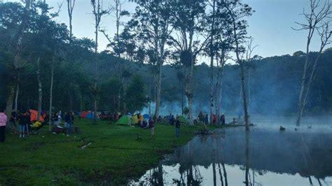 kawasan danau tambing kabupaten poso  dijadikan wisata