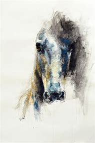 Beautiful Horse Head Drawings