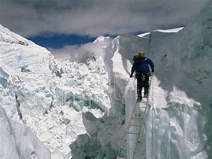 Khumbu Icefall and the Valley of Silence   Azimuth