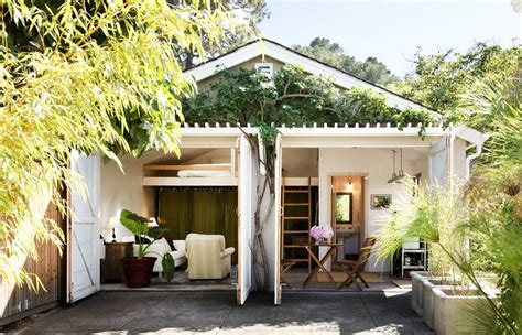 2 car garage conversion two car garage converted into backyard tiny cottage