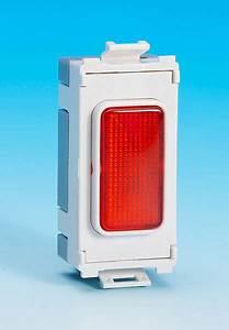 Red Grid Neon Indicator 240v