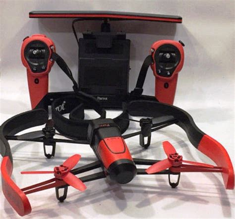 jual parrot bebop drone  skycontroller red  batteries charger  lapak naystore naystorelbk
