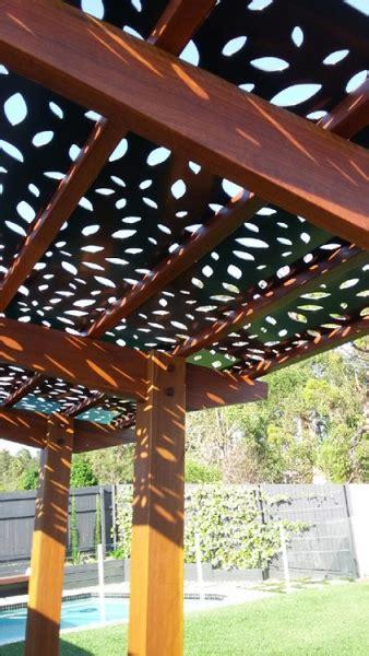 cantilever pergola spotted gum pergola timber pergola