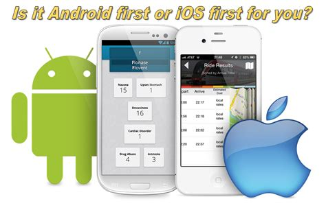 developing android apps develop mobile app on ios or android